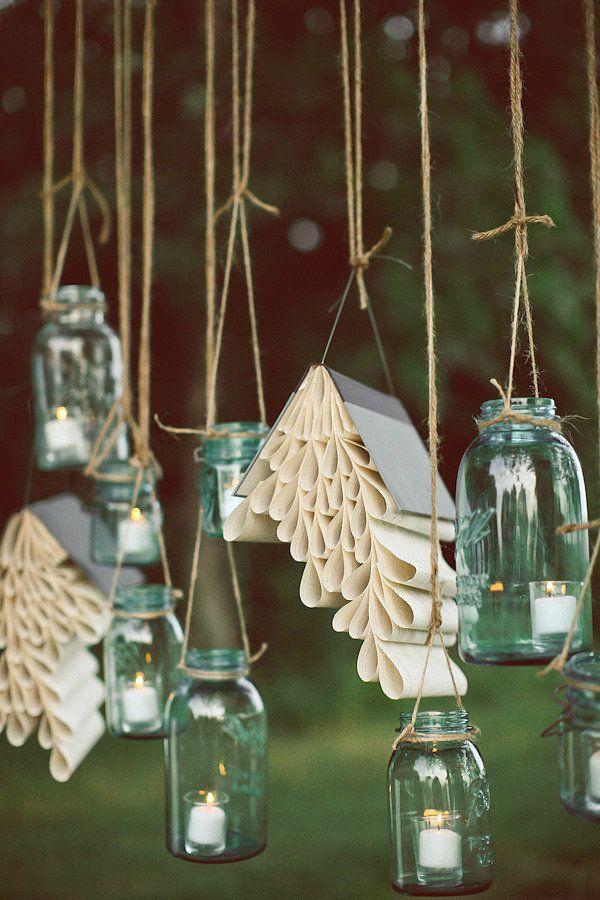 创意梅森瓶吊灯