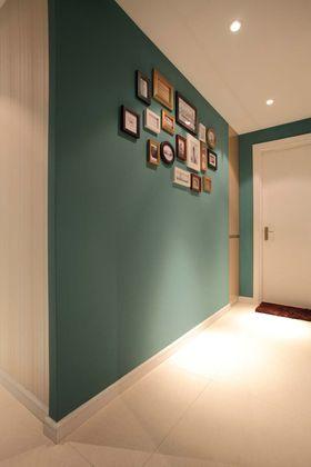 80平米三室两厅现代简约风格走廊欣赏图