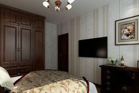 70平米美式风格卧室效果图