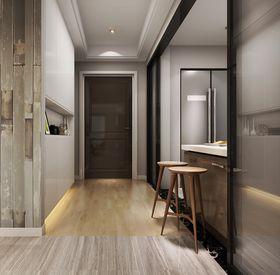 140平米三室两厅现代简约风格玄关图