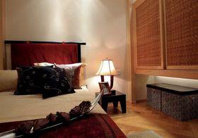 90平米公寓东南亚风格卧室装修效果图