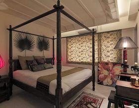 富裕型100平米东南亚风格卧室图片大全