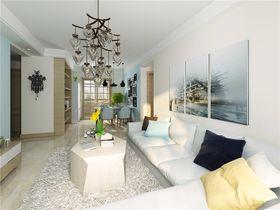 15-20万110平米三室两厅北欧风格客厅图片