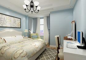 3-5万110平米三室两厅美式风格卧室设计图