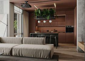 70平米欧式风格厨房装修图片大全