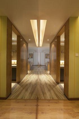 富裕型110平米四室两厅现代简约风格走廊图片