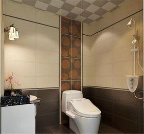 经济型60平米公寓现代简约风格卫生间装修案例