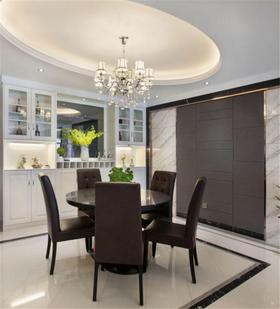 10-15万140平米四室两厅现代简约风格餐厅图片