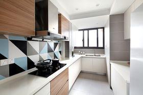 10-15万90平米三室两厅日式风格厨房图片大全