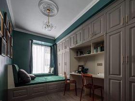 130平米三室一厅美式风格卧室欣赏图