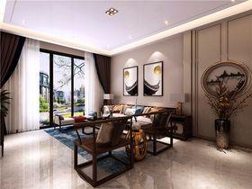 140平米復式中式風格客廳效果圖