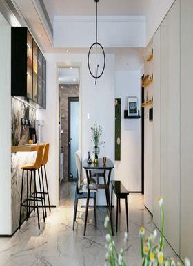 80平米三室一厅美式风格餐厅装修案例