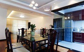 富裕型130平米三室两厅中式风格餐厅装修案例