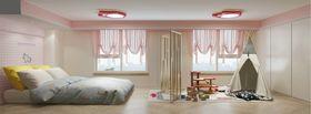 60平米三现代简约风格儿童房装修图片大全
