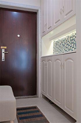 富裕型80平米三室两厅混搭风格玄关装修案例