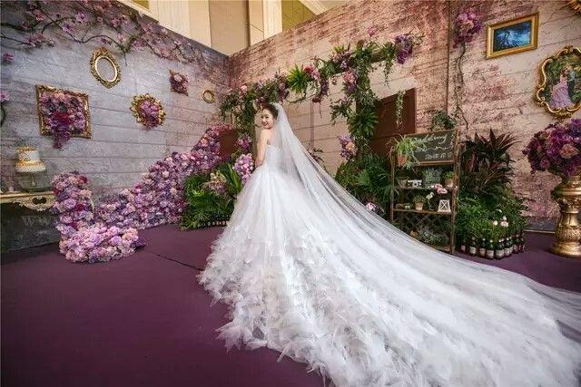 婚纱那么美不会走路怎么行