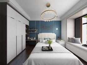 120平米三室兩廳現代簡約風格臥室裝修圖片大全