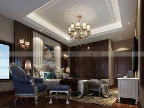 豪华型140平米别墅新古典风格影音室设计图