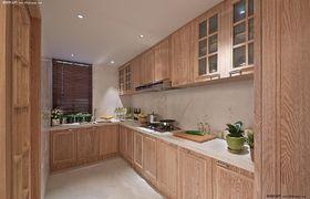 经济型140平米四室两厅混搭风格厨房图片