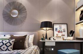 70平米三室一厅现代简约风格卧室装修案例