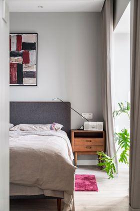 20万以上80平米现代简约风格卧室装修案例