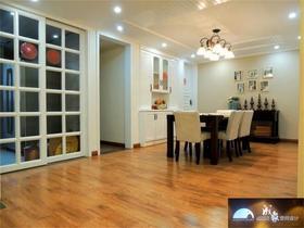 5-10万140平米三室两厅美式风格餐厅设计图