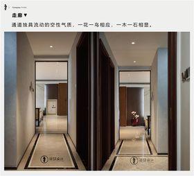 20萬以上140平米四室兩廳現代簡約風格走廊裝修案例