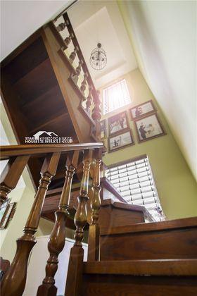 10-15万90平米三室两厅美式风格楼梯图片