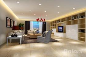140平米四室兩廳現代簡約風格客廳裝修效果圖