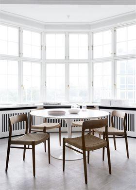 60平米一室一厅北欧风格餐厅图片大全