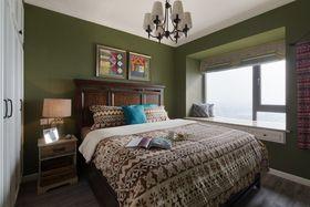80平米三室一廳混搭風格臥室裝修效果圖