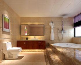 20万以上140平米别墅中式风格卫生间装修图片大全