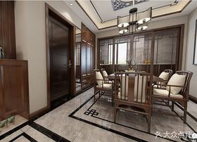 120平米三中式风格餐厅装修案例