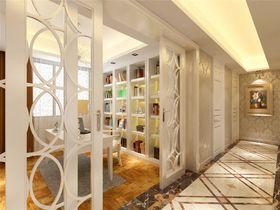 豪华型90平米三室两厅现代简约风格玄关装修图片大全