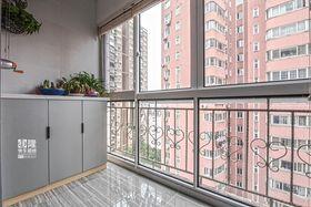 20万以上120平米三室两厅现代简约风格阳台图