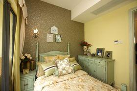 120平米三室两厅地中海风格卧室欣赏图