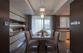 140平米四室兩廳北歐風格餐廳欣賞圖