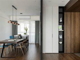140平米四室两厅现代简约风格餐厅装修图片大全