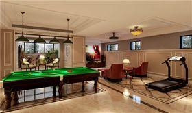 140平米别墅美式风格健身室图片