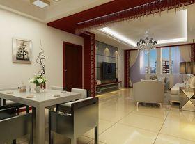 经济型120平米三室一厅混搭风格餐厅欣赏图