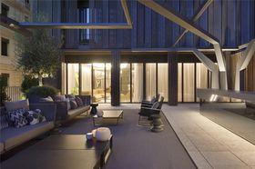 140平米别墅北欧风格阳台图片