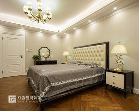 140平米复式美式风格卧室装修图片大全