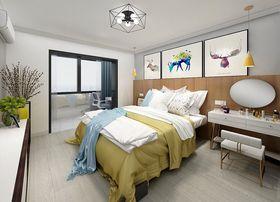 50平米小户型北欧风格卧室设计图