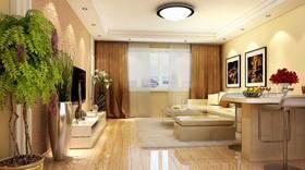 现代简约风格客厅装修图片大全