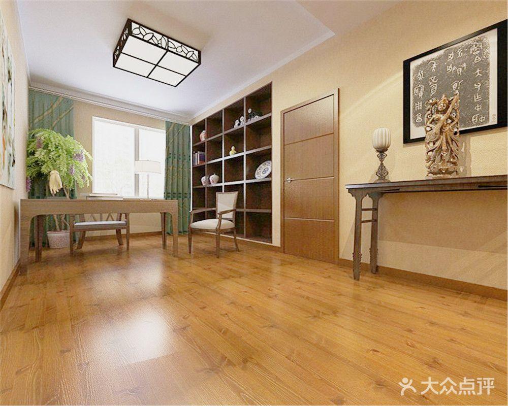 5-10万110平米中式风格储藏室设计图