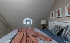 120平米复式美式风格卧室效果图