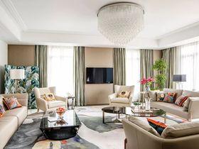 140平米別墅現代簡約風格客廳裝修案例