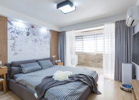 30平米小户型中式风格卧室装修图片大全