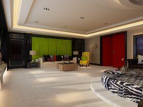 20万以上140平米四室两厅混搭风格卧室装修图片大全