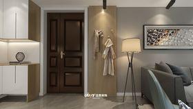 110平米三室两厅现代简约风格走廊欣赏图